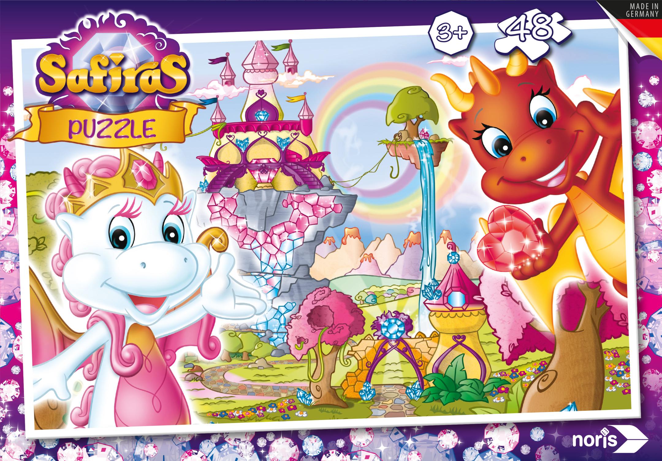 Safiras Tara und Draki Puzzle 48tlg
