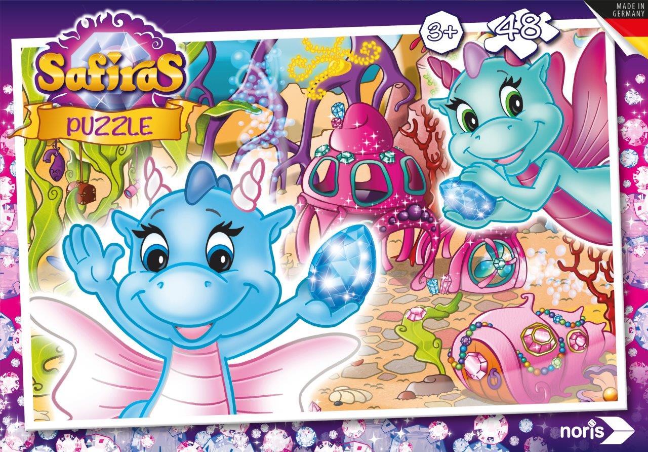 Safiras Wasserdrachen Puzzle 48tlg