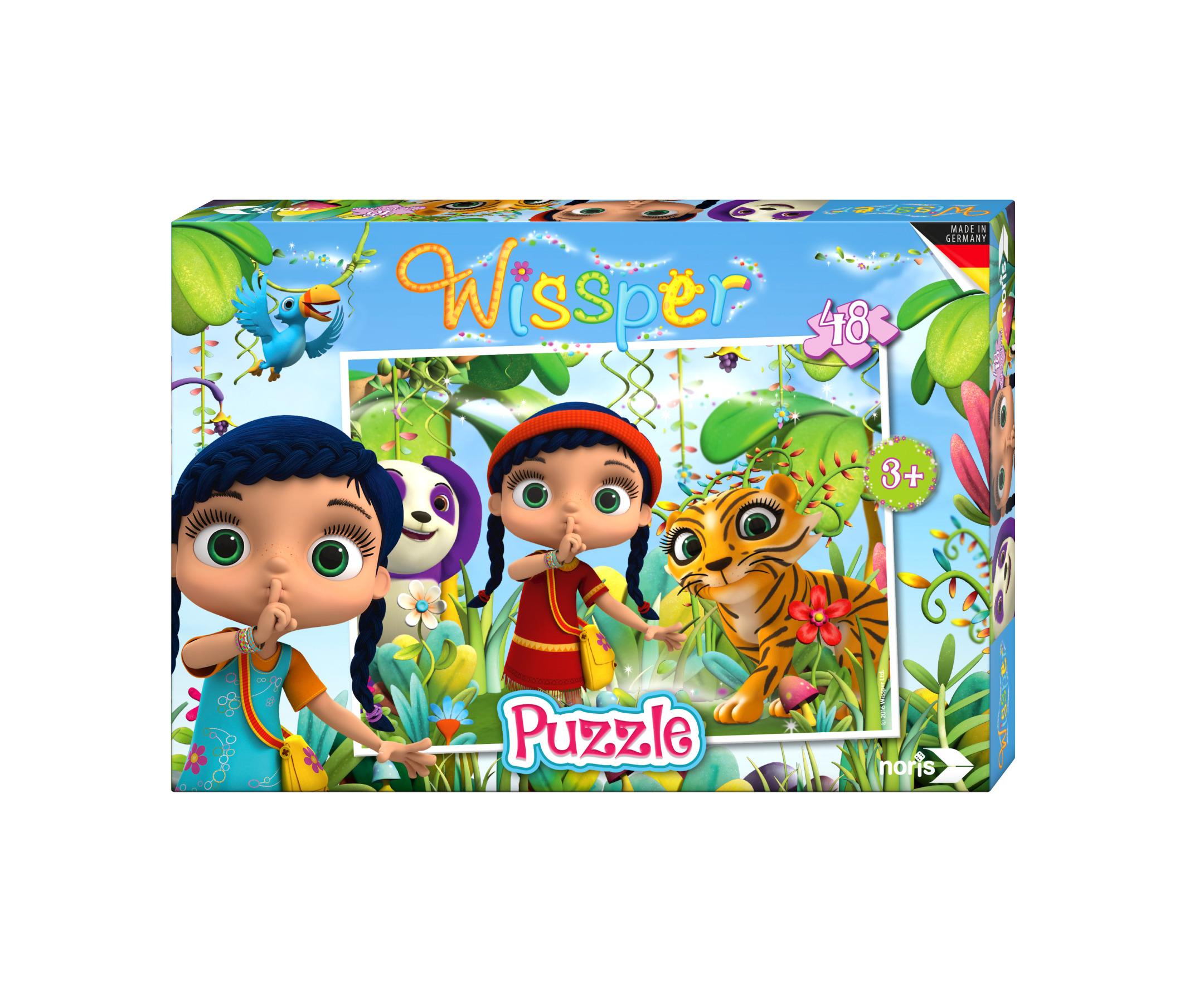 Wissper Puzzle - In der Waldwelt 48tlg.