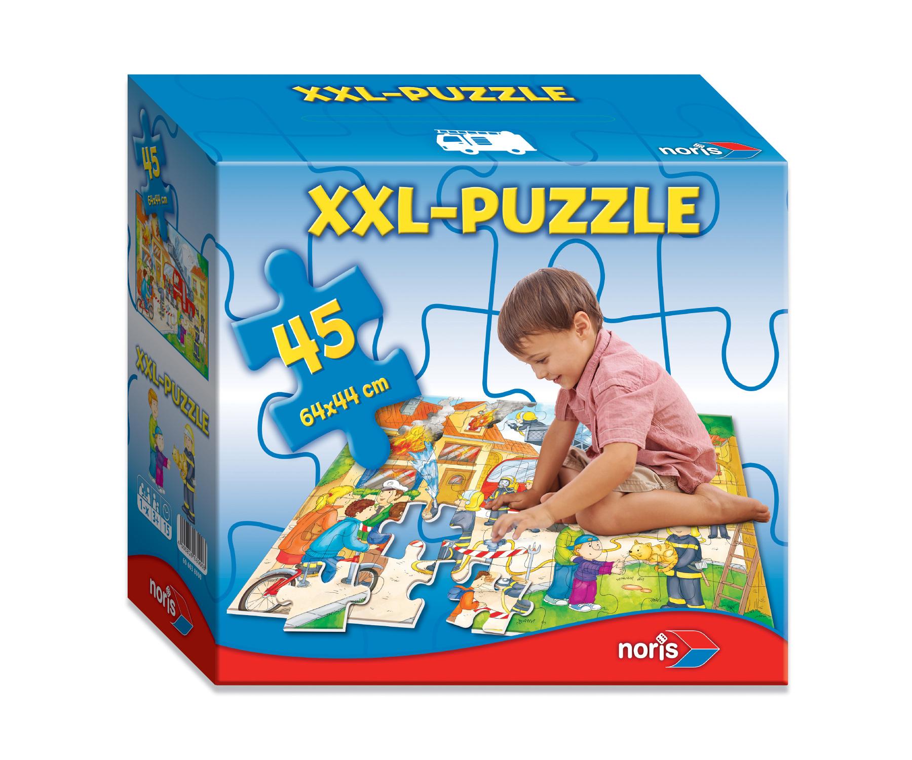 XXL Riesenpuzzle Feuerwehr