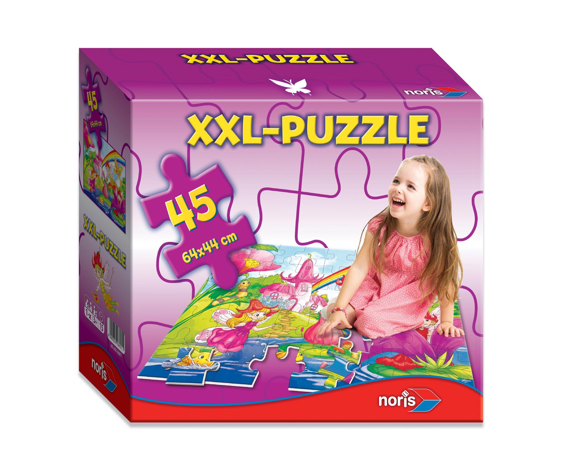 XXL Riesenpuzzle Feenwelt
