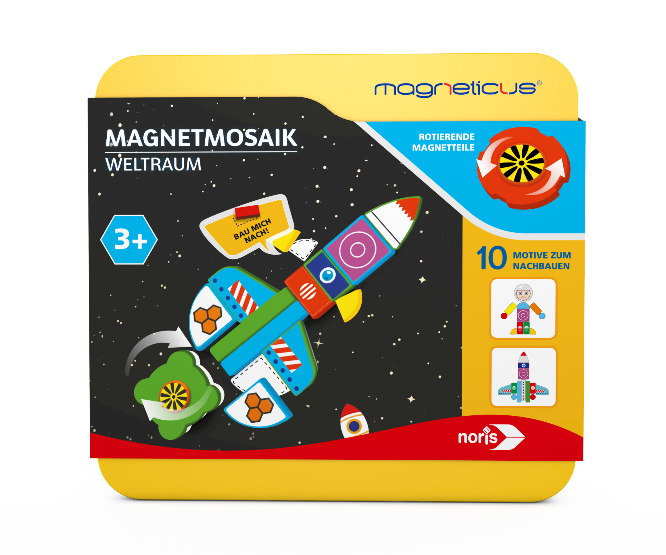 Magneticus Magnetmosaik - Weltraum