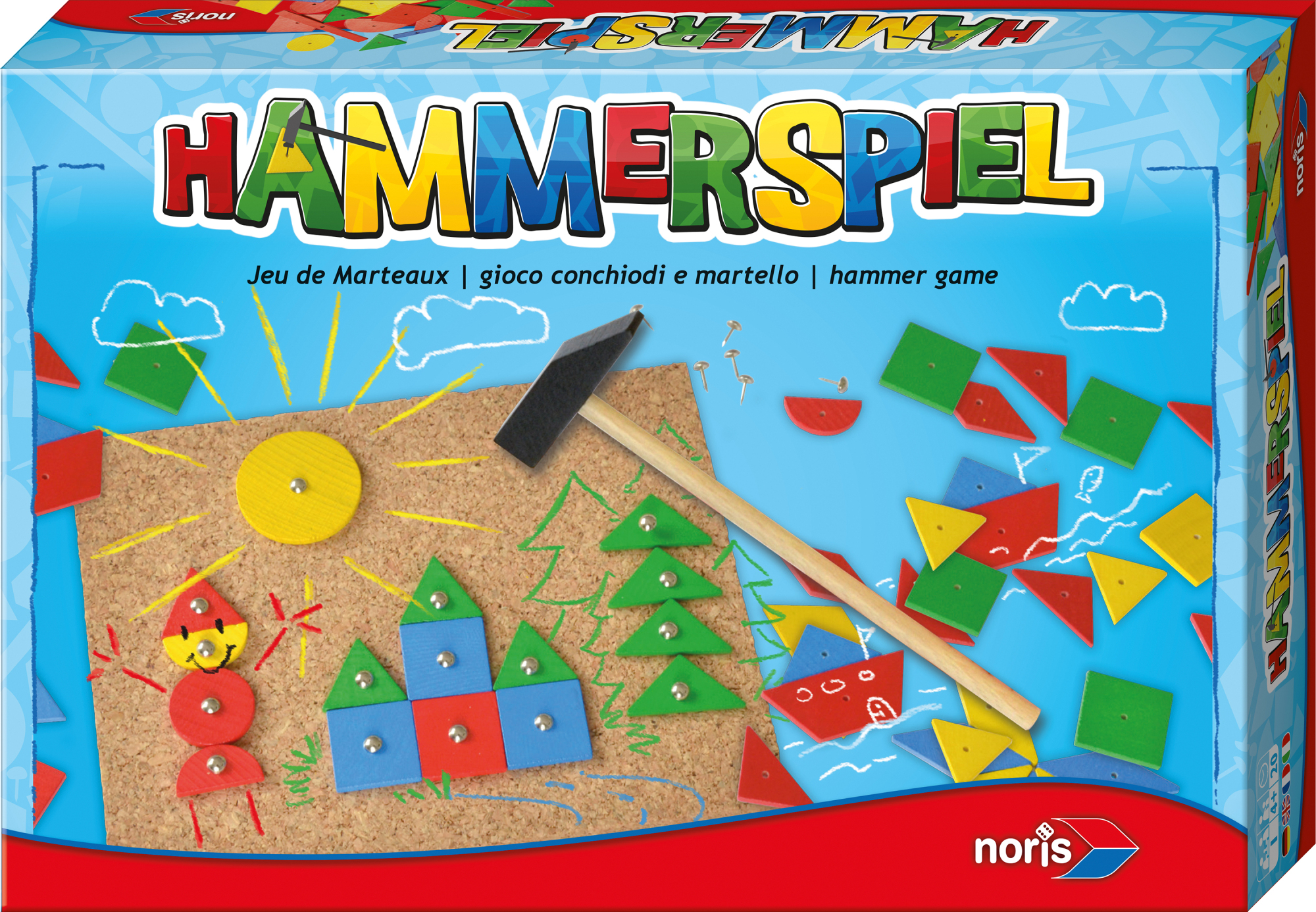Geschicklichkeitsspiel Hammerspiel