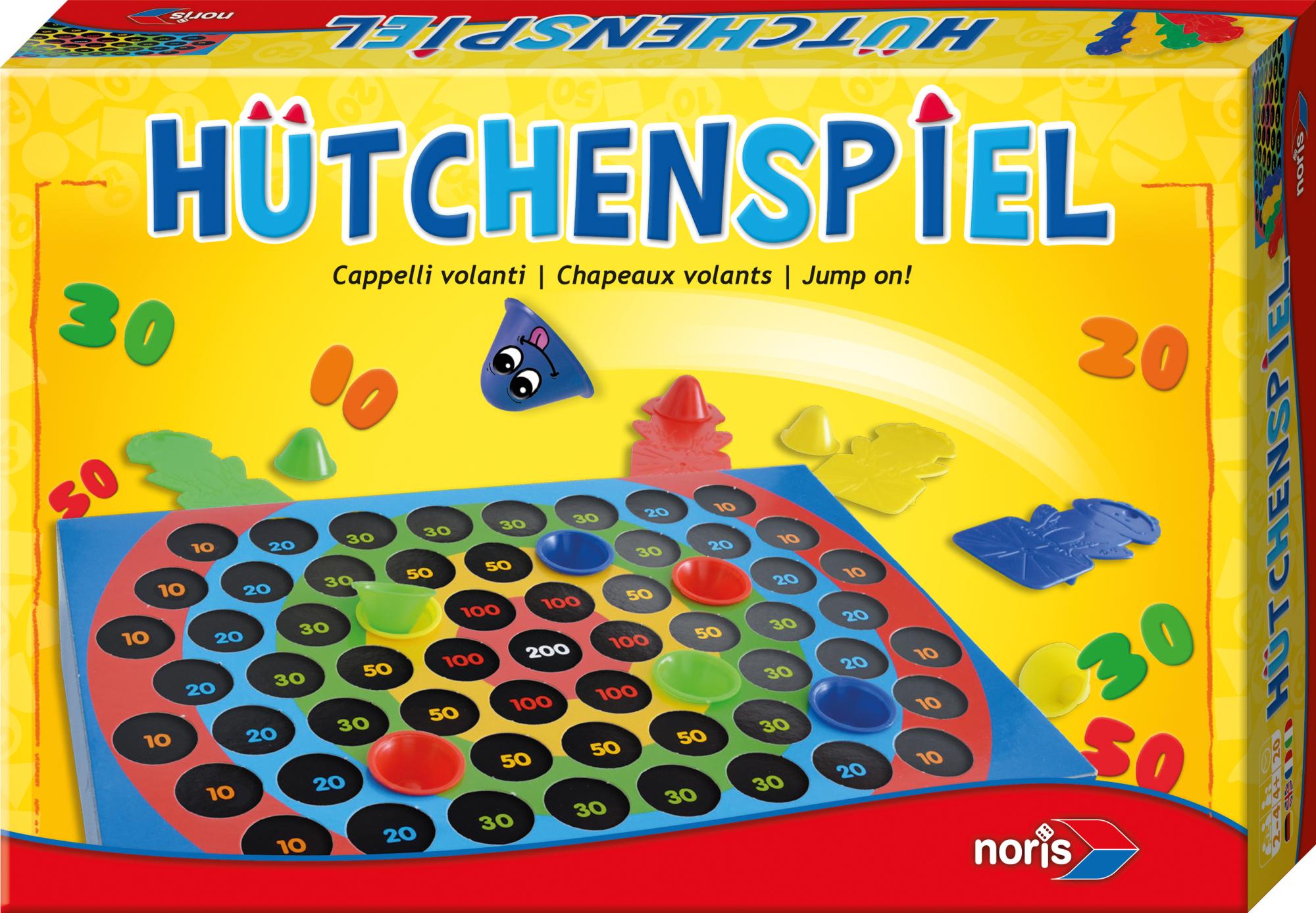 Geschicklichkeitsspiel Hütchenspiel