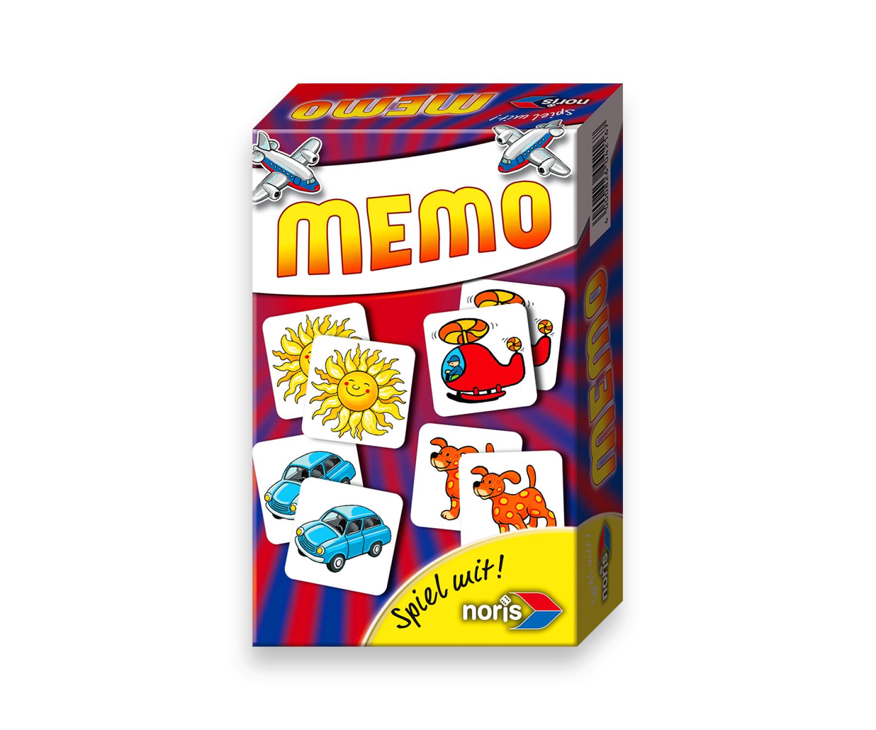 Mitbringspiel Memo