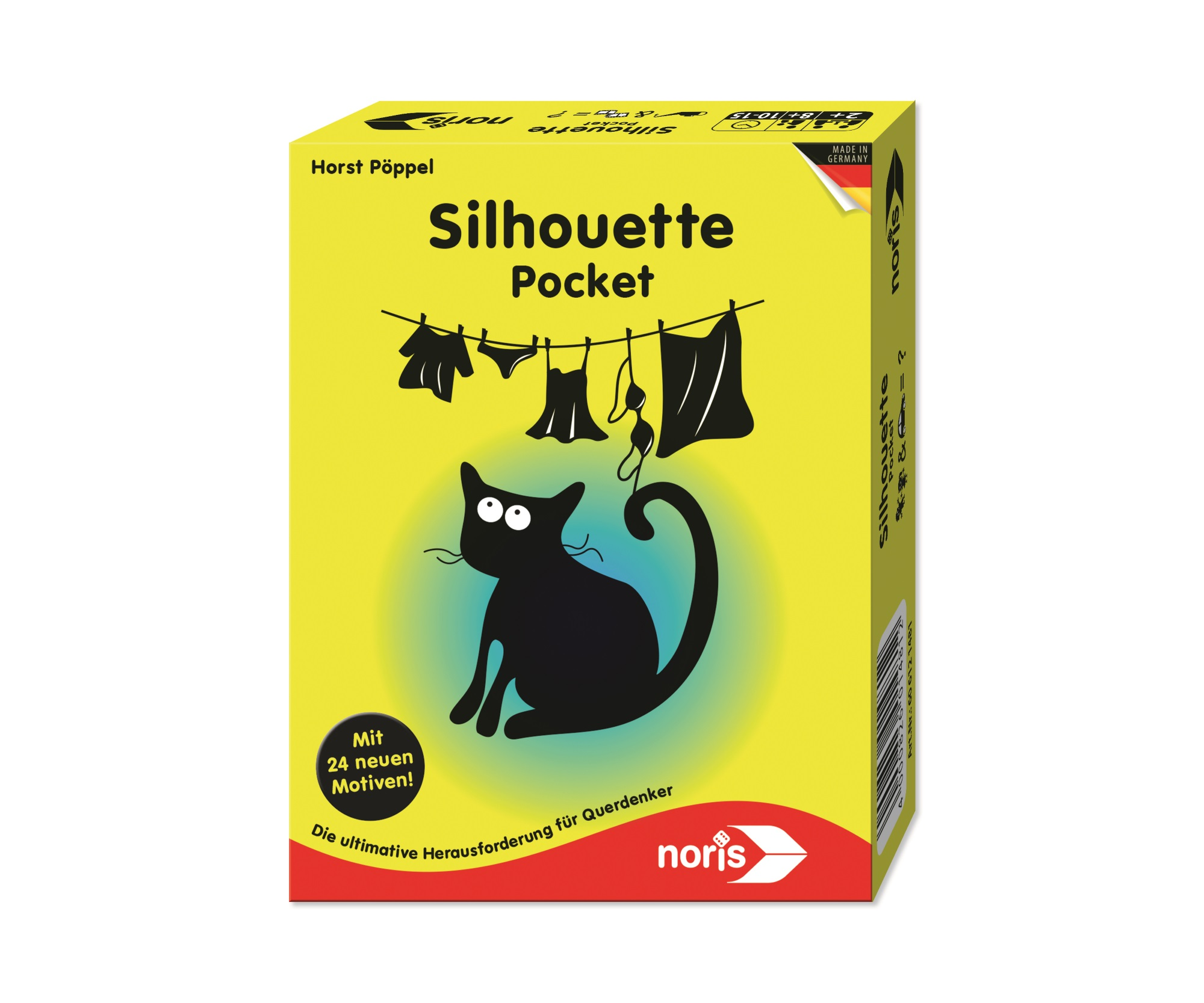 Reisespiel - Silhouette Pocket