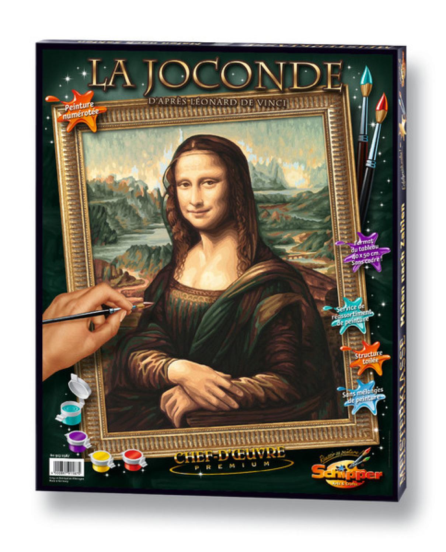 Malen nach Zahlen - Mona Lisa