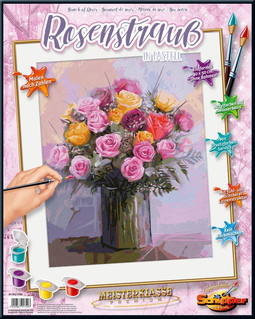MNZ - Rosenstrauß in Pastellfarben