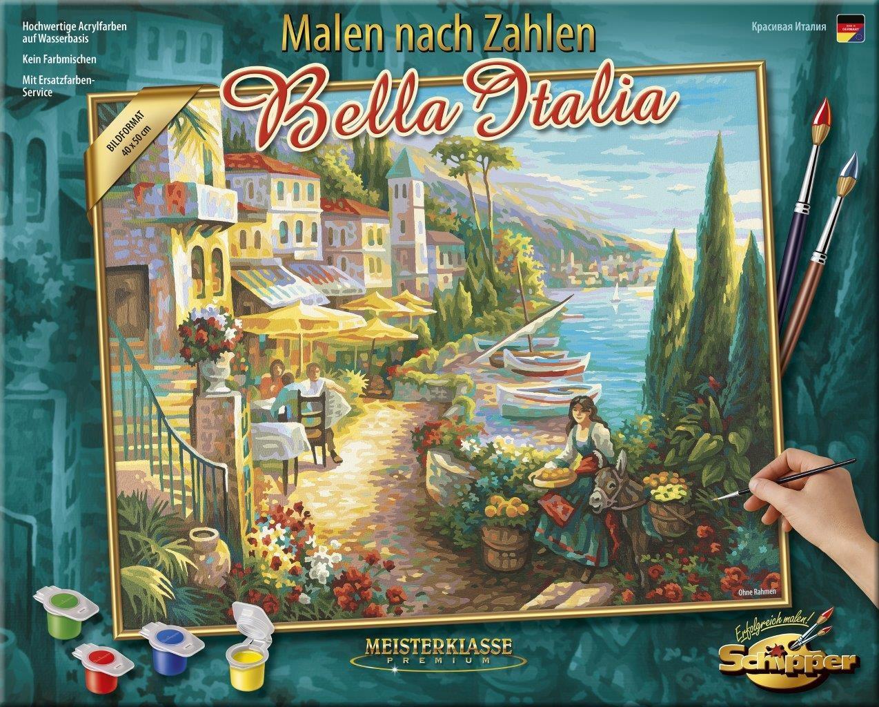 Malen nach Zahlen - Bella Italia