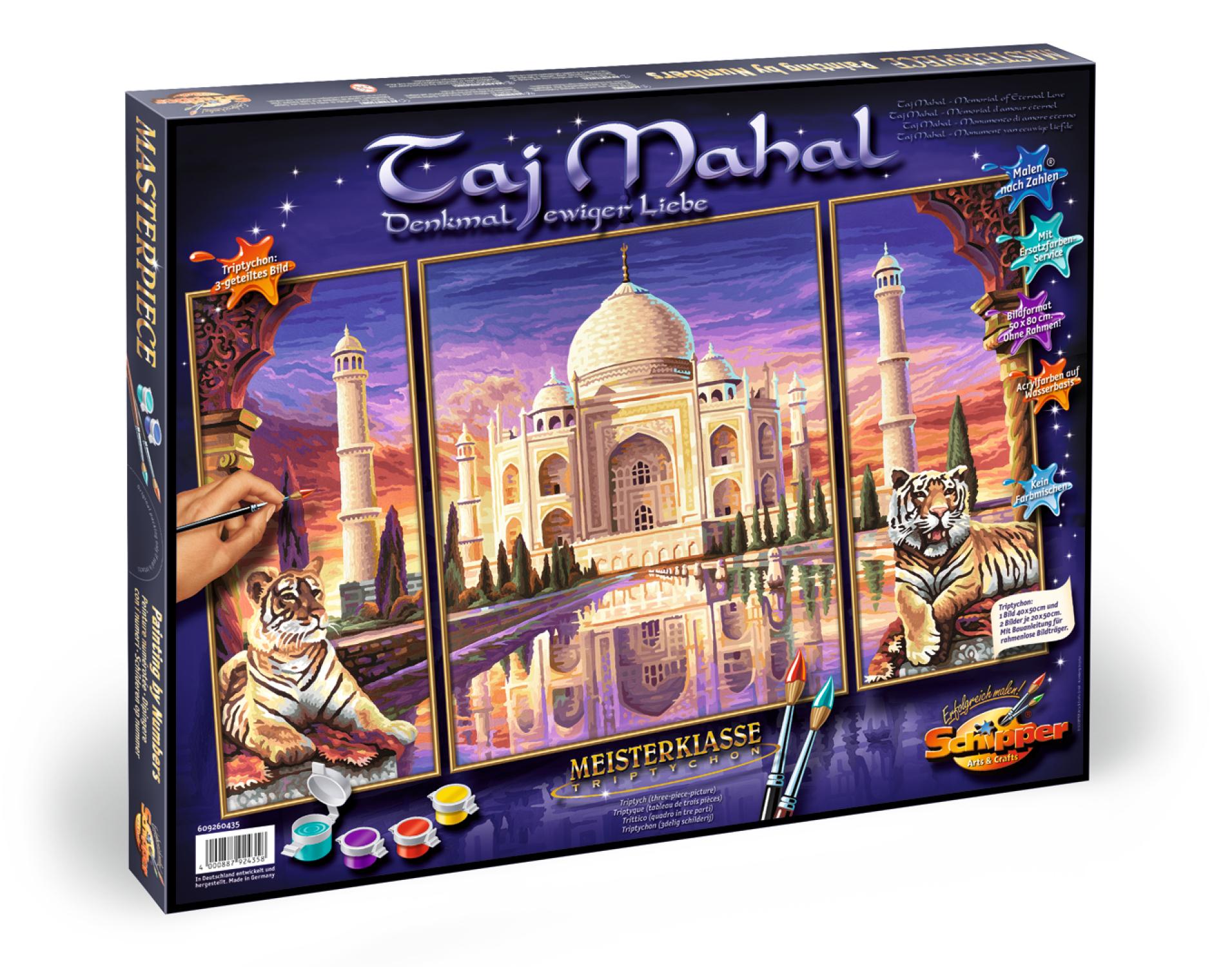 MNZ - Taj Mahal - Denkmal der Liebe