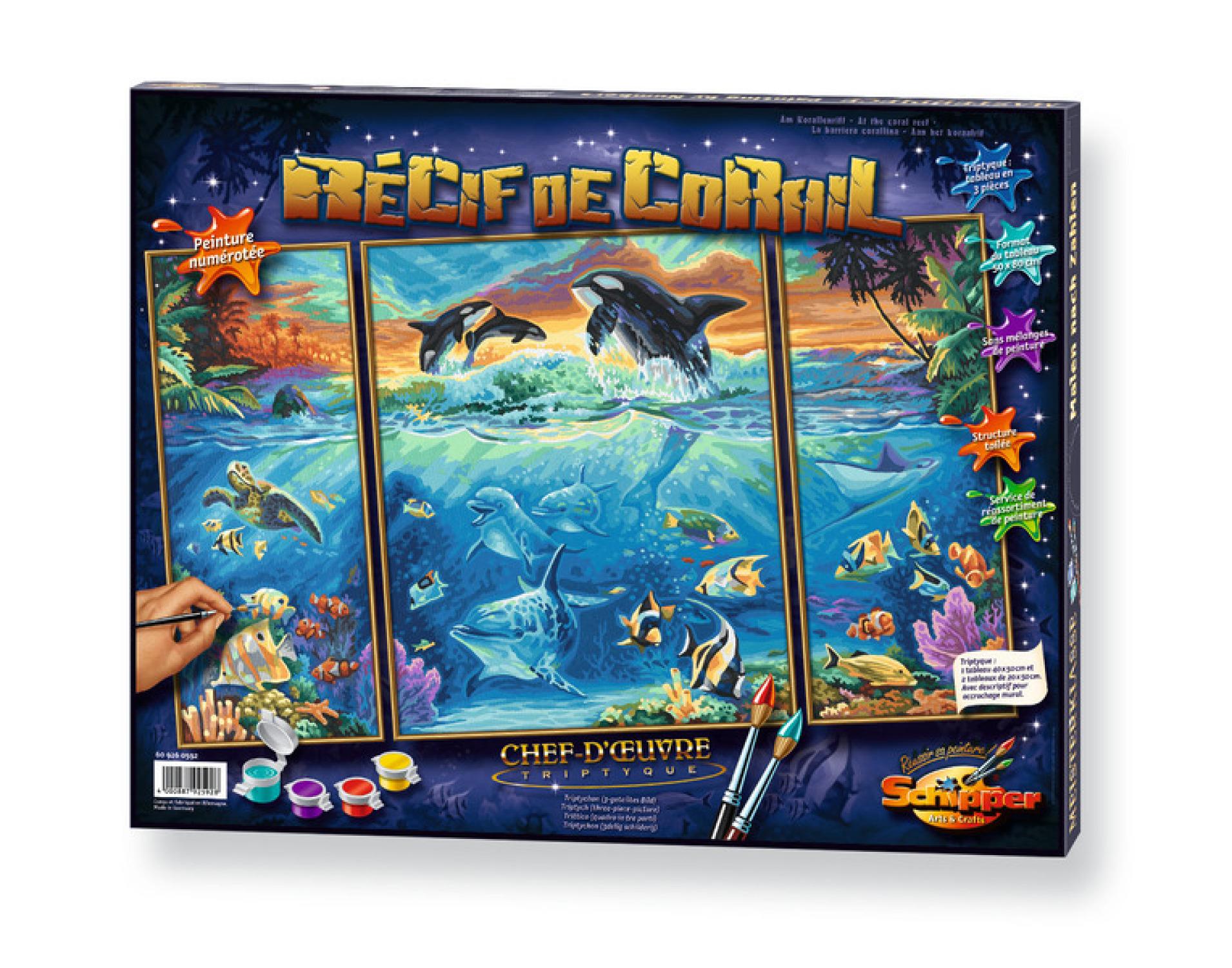 Malen nach Zahlen - Am Korallenriff
