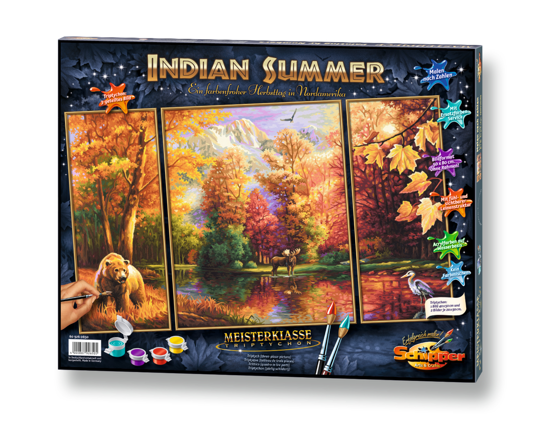Malen nach Zahlen - Indian Sommer
