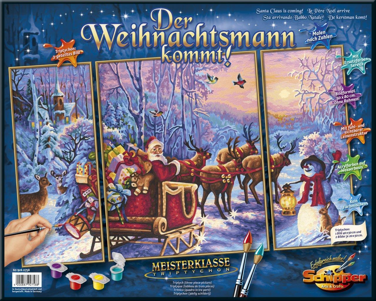 Der Weihnachtsmann kommt!