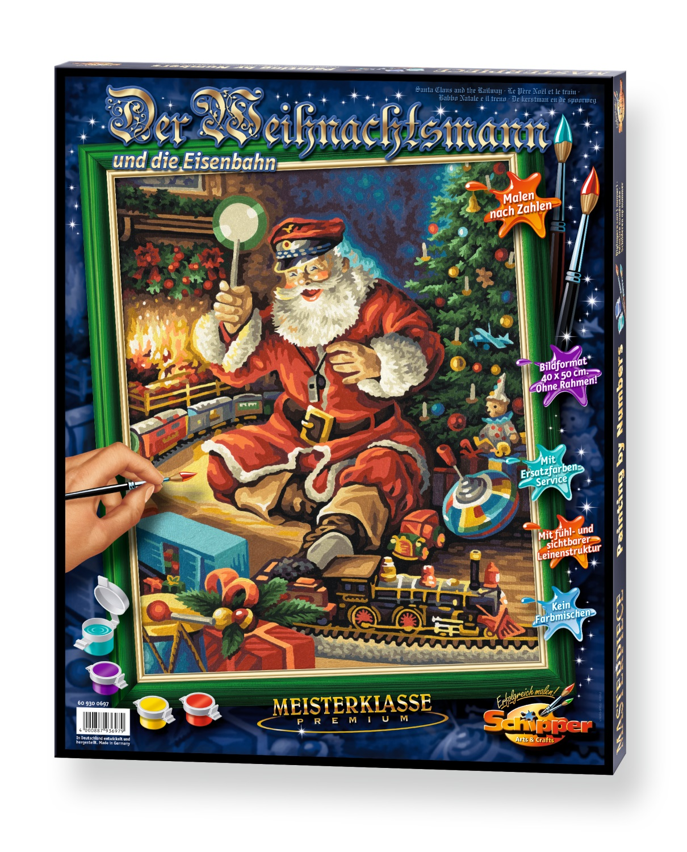 Der Weihnachtsmann und die Eisenbahn