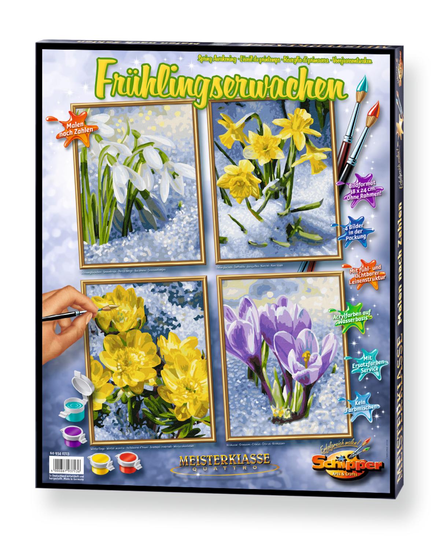 Malen nach Zahlen - Frühlingserwachen