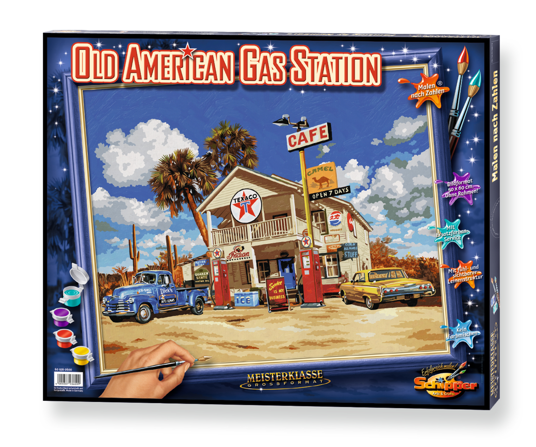 MNZ - Old American Gas Station
