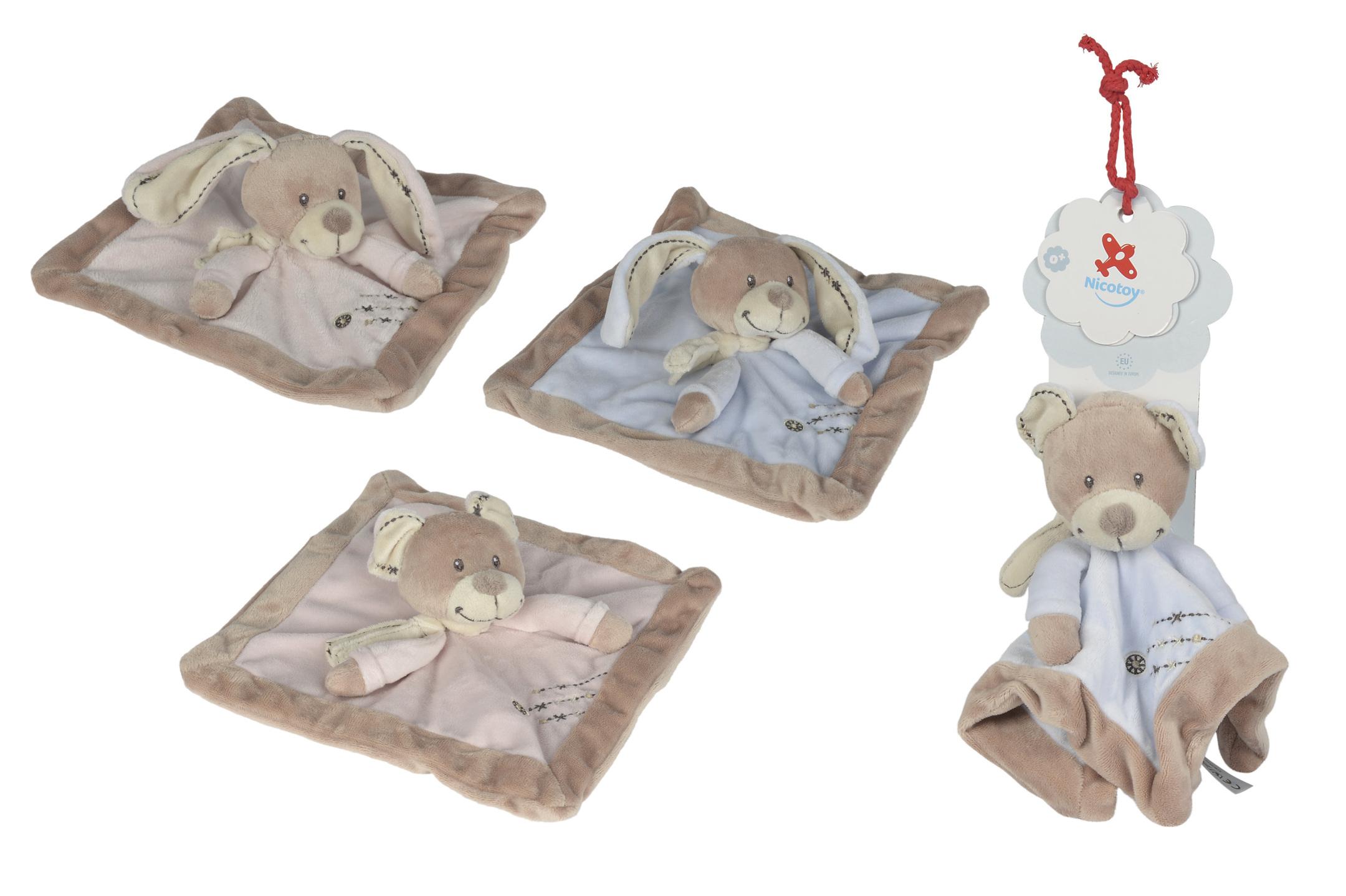 Nicotoy Baby Schmusetuch Cuddles 4fs