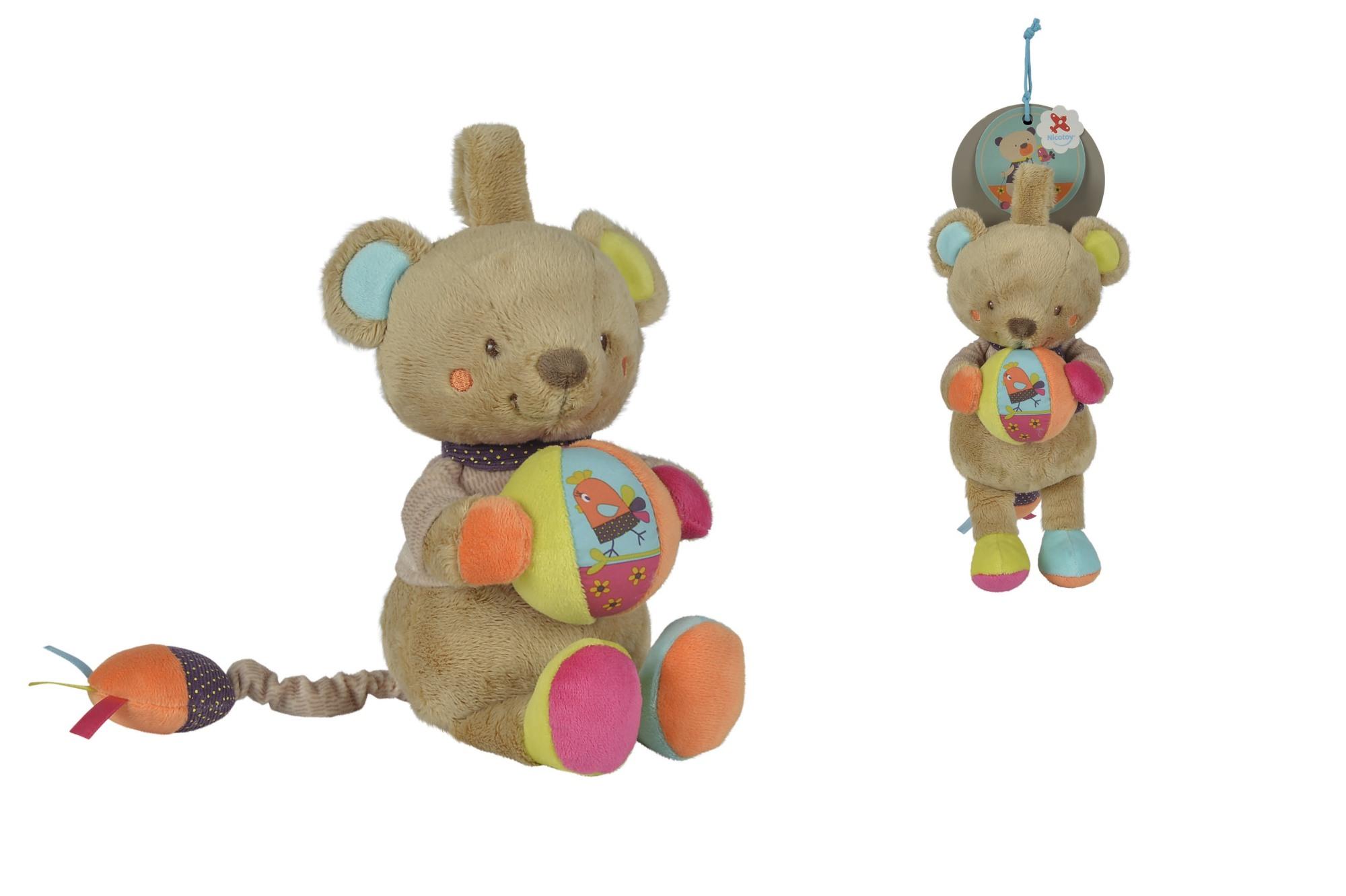 Nicotoy Baby Spieluhr Bär Gary