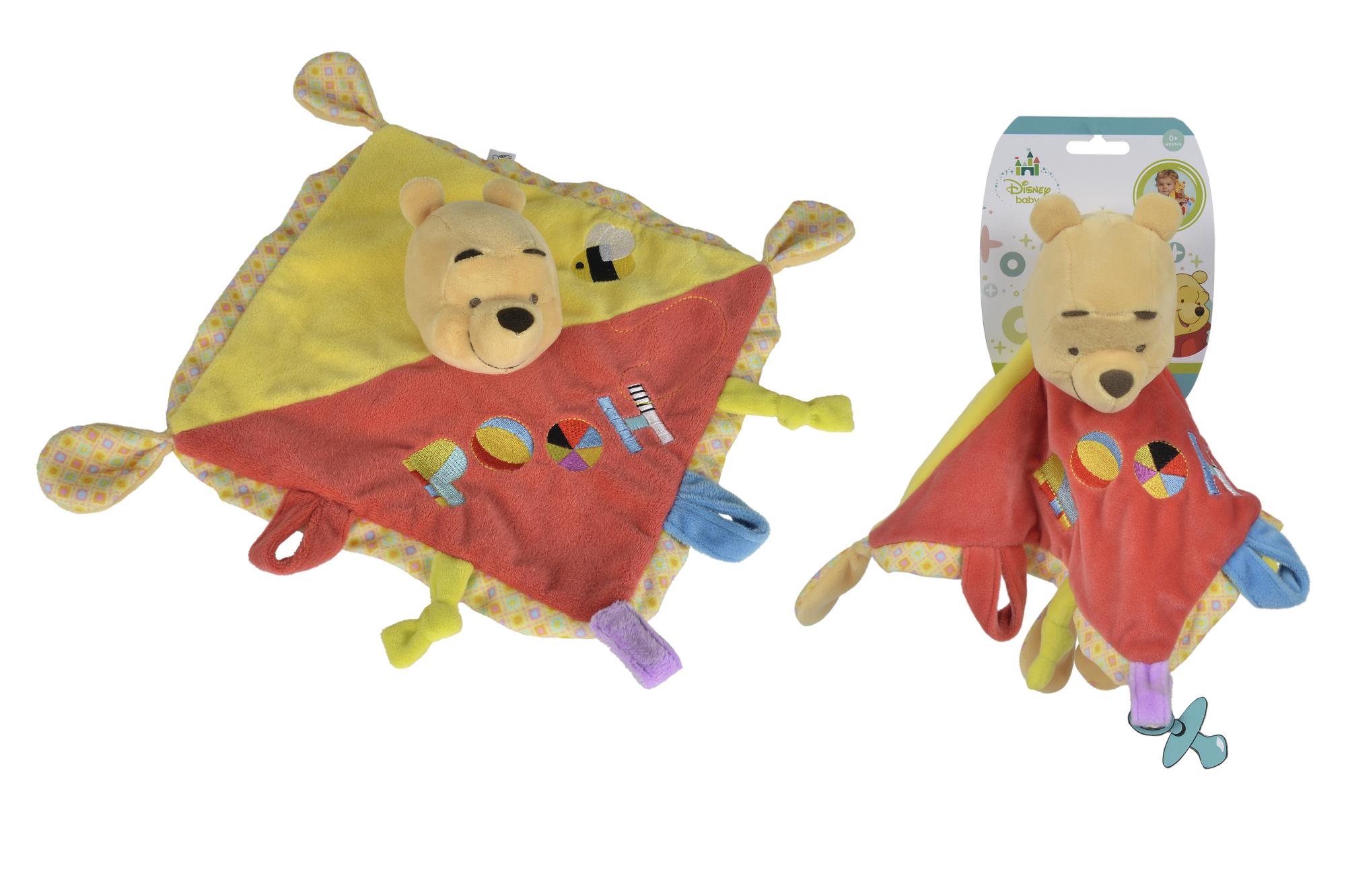 Disney 3D Winnie the Puuh Schmusetuch