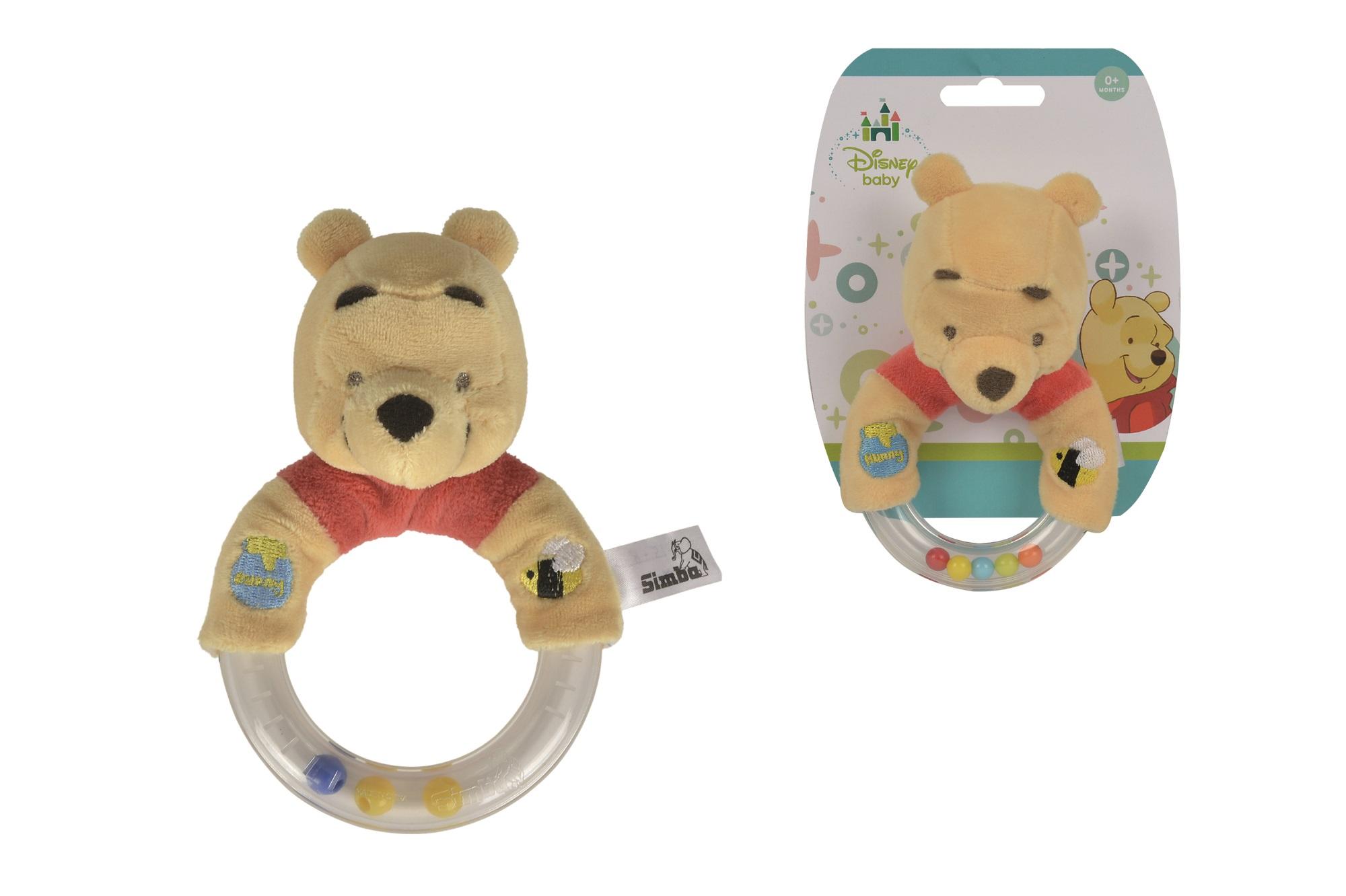 Disney Winnie the Puuh Ring Rassel