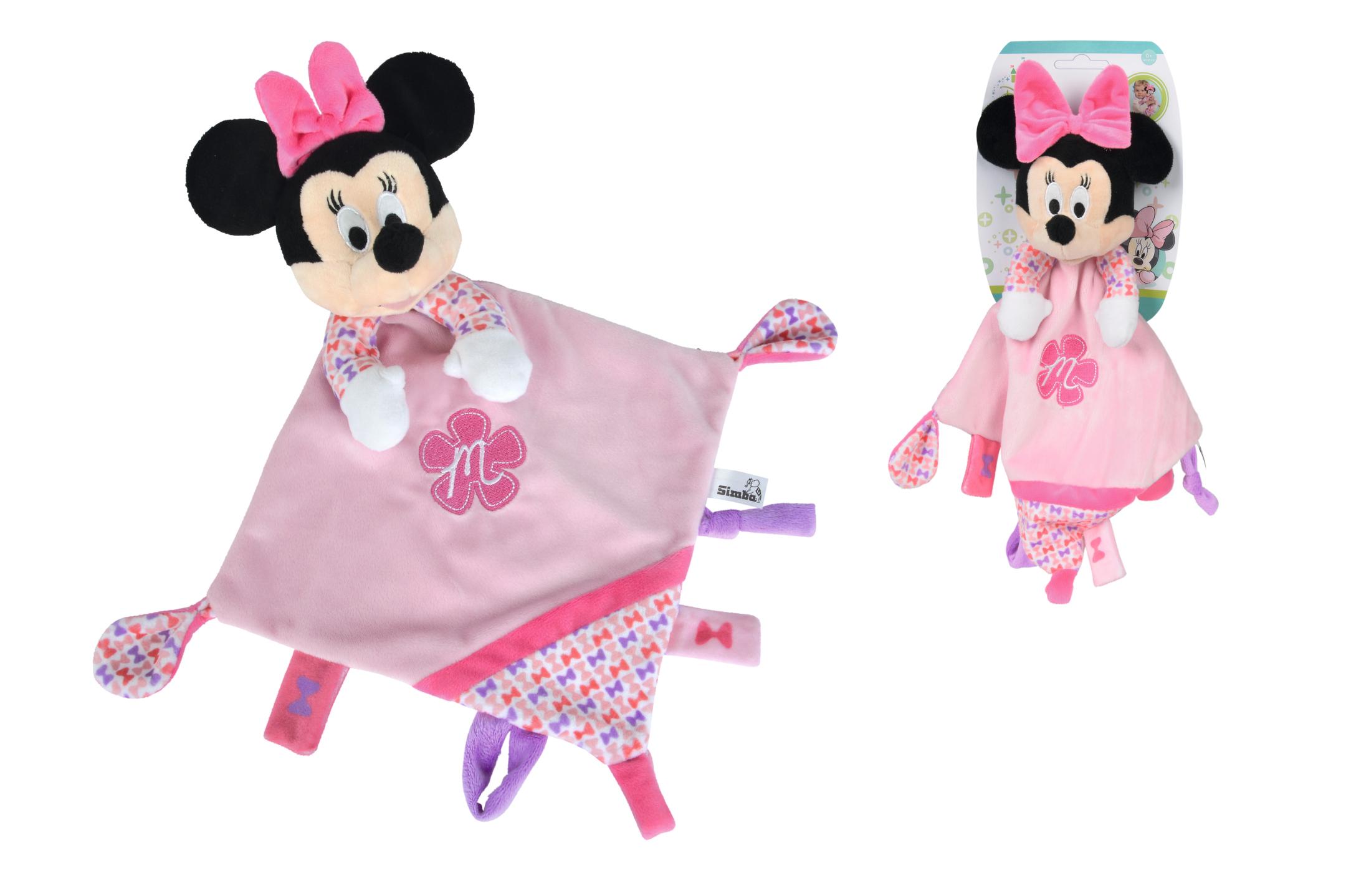 Disney Minnie 3D Schmusetuch