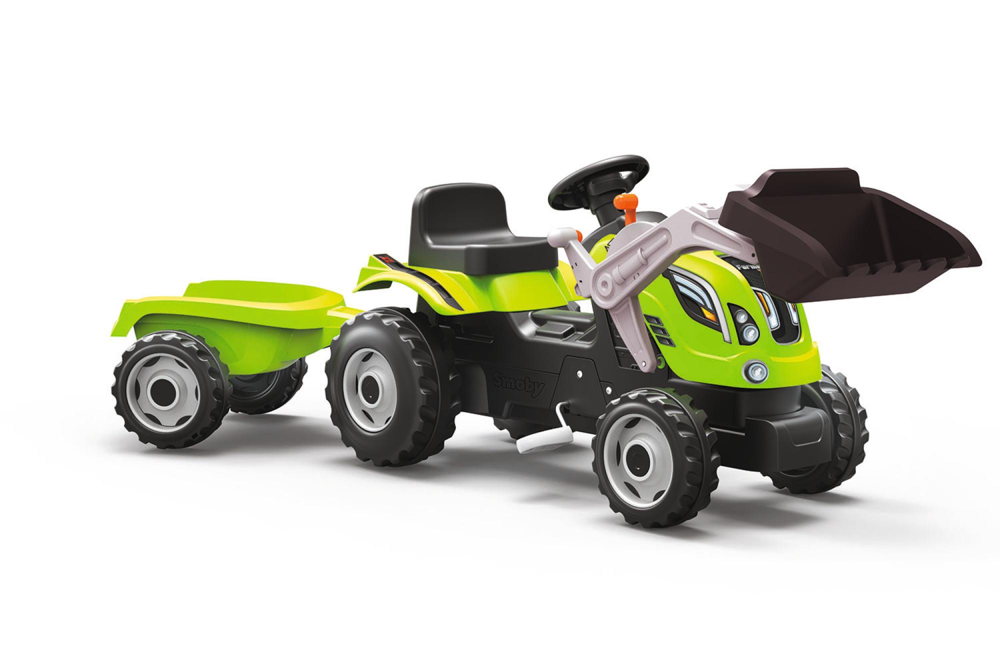 Smoby Traktor Farmer XL mit Frontschaufel