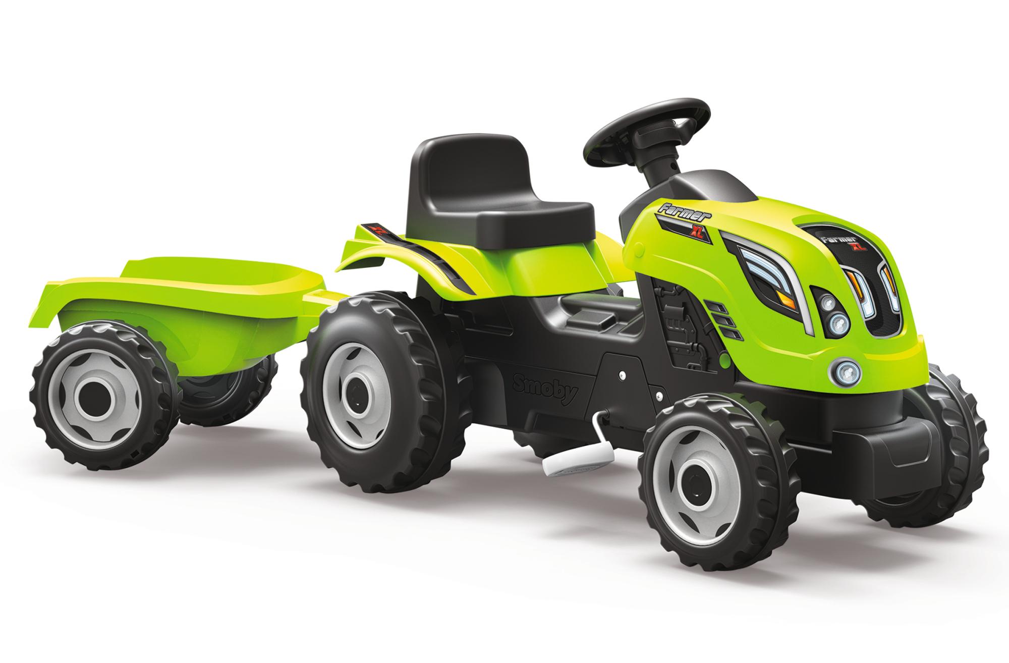 Smoby Traktor Farmer XL grün