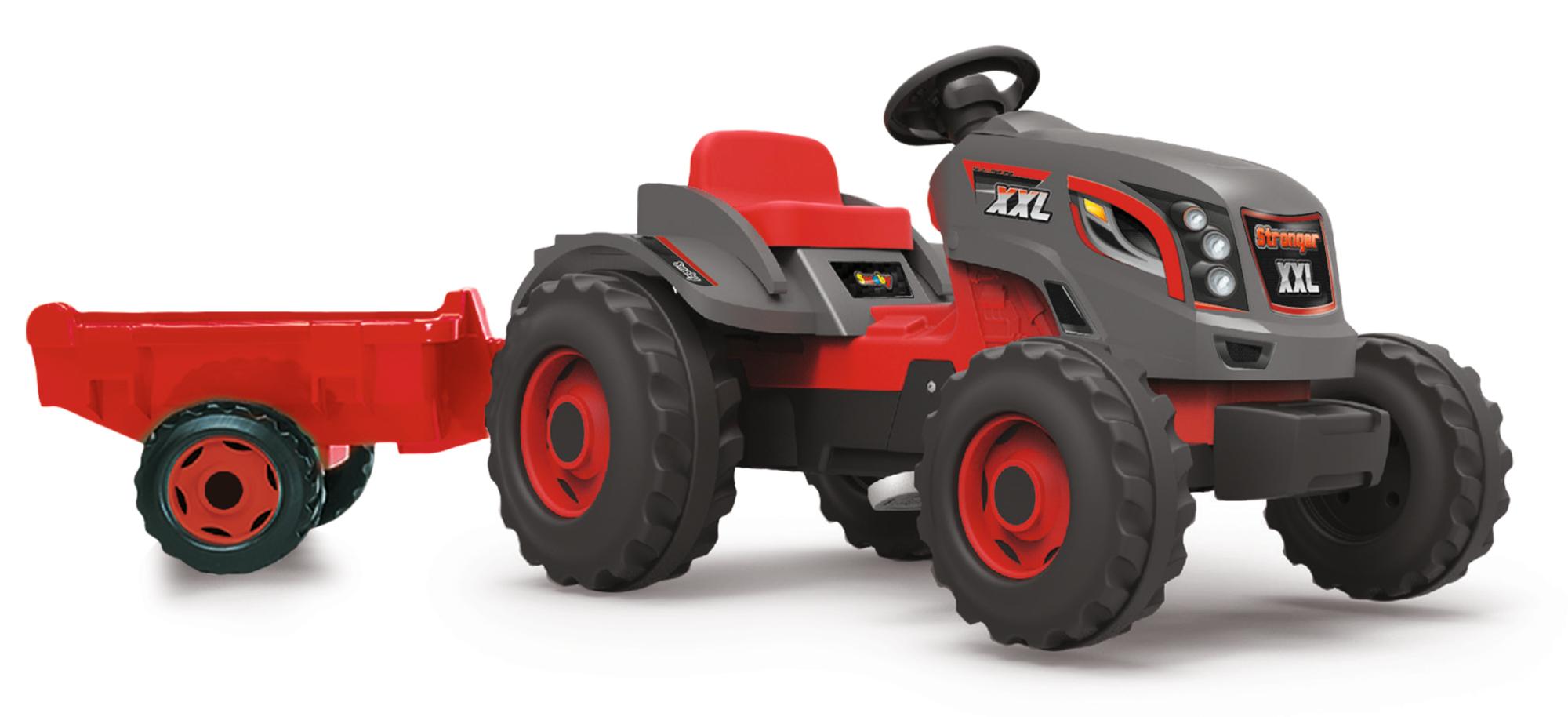 Smoby Traktor Stronger XXl mit Anhänger