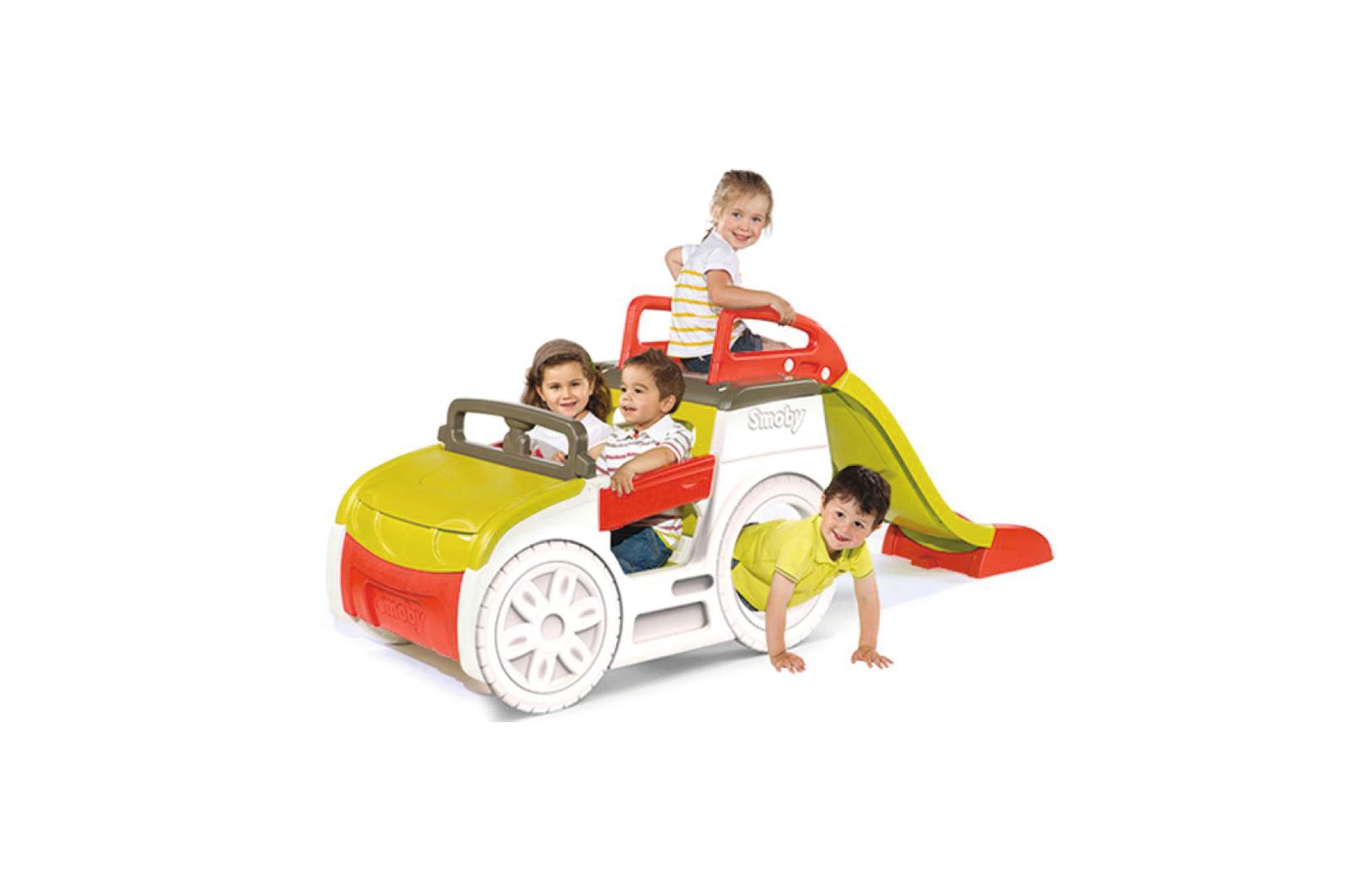 Smoby Abenteuer Spielauto - Sandkasten