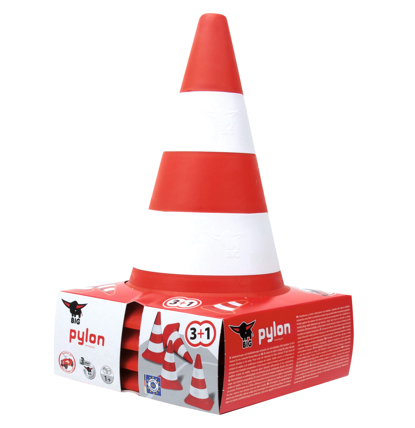 big pylon 4er set