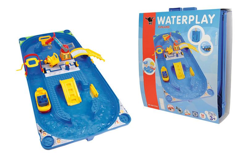 big waterplay funland mit 1 spielfigur