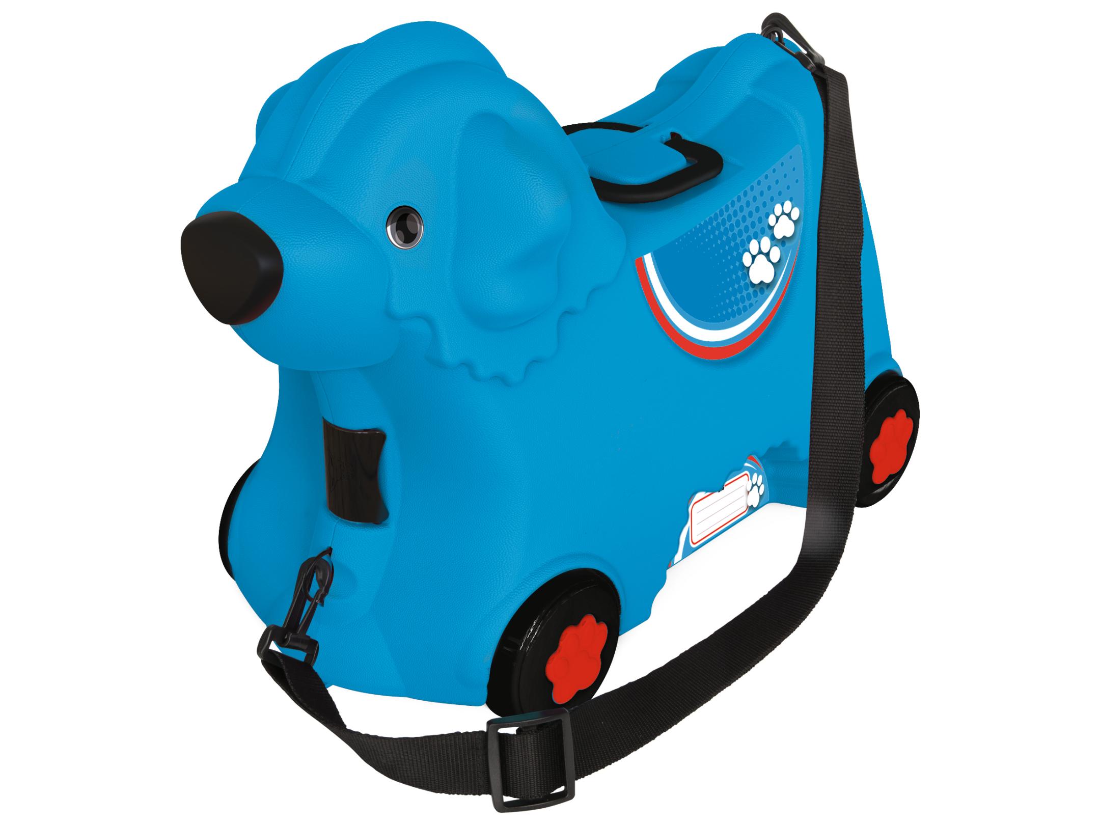 big bobby trolley blau