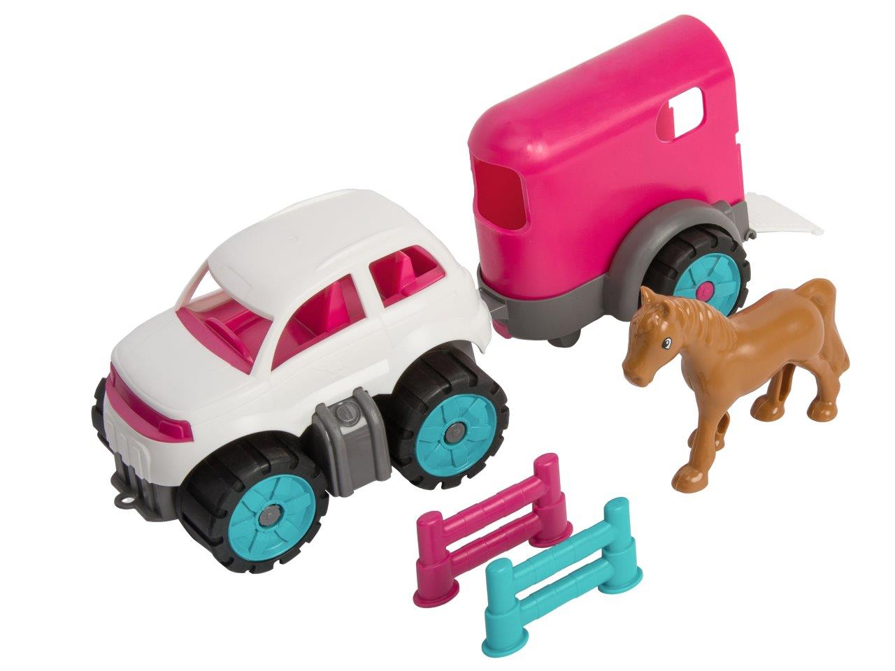 big power worker mini ponytransporter