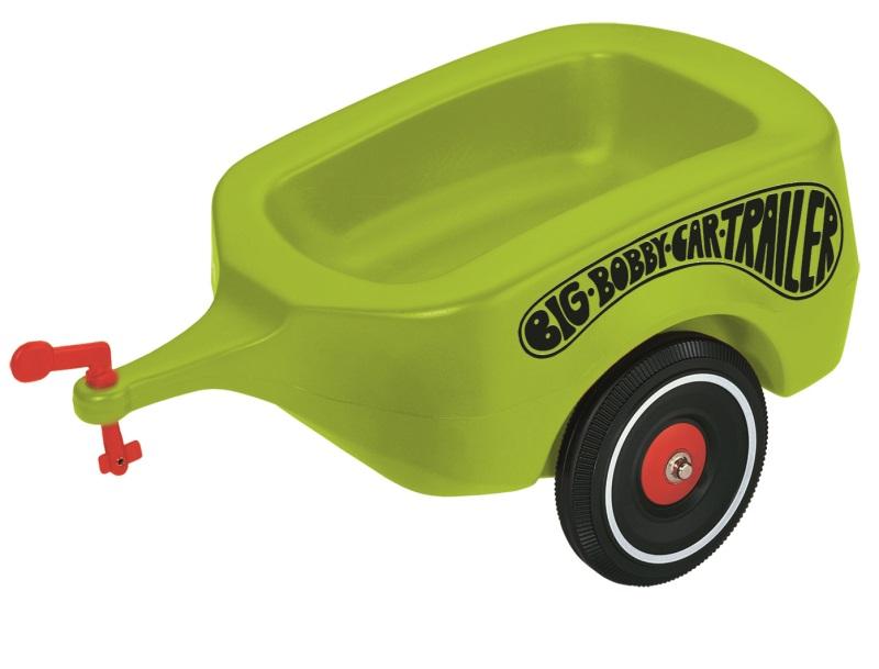 big bobby car anhänger grün