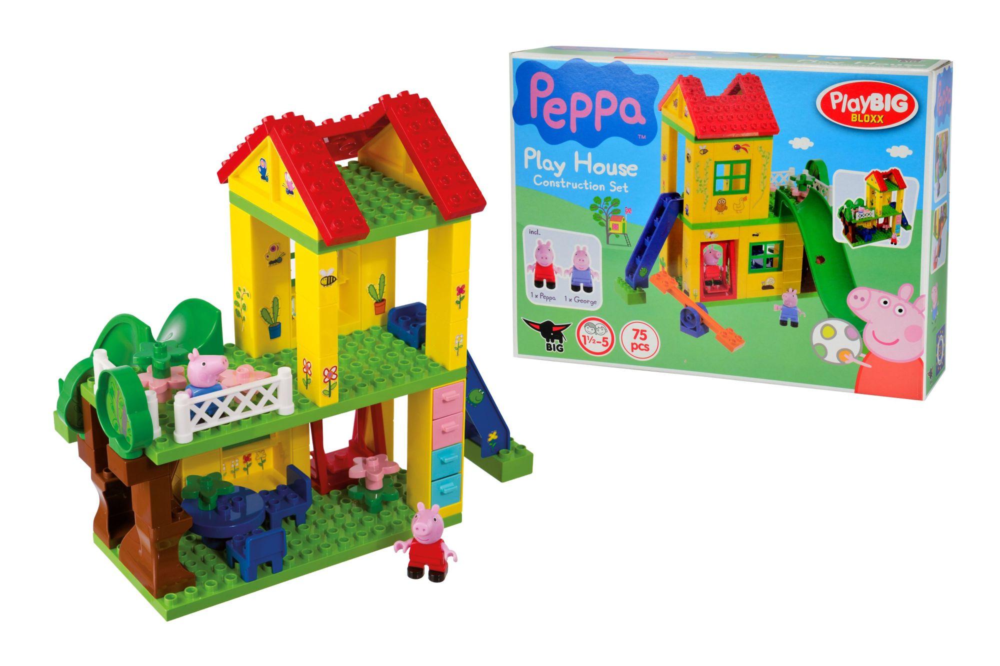 playbig bloxx peppa pig spielhaus