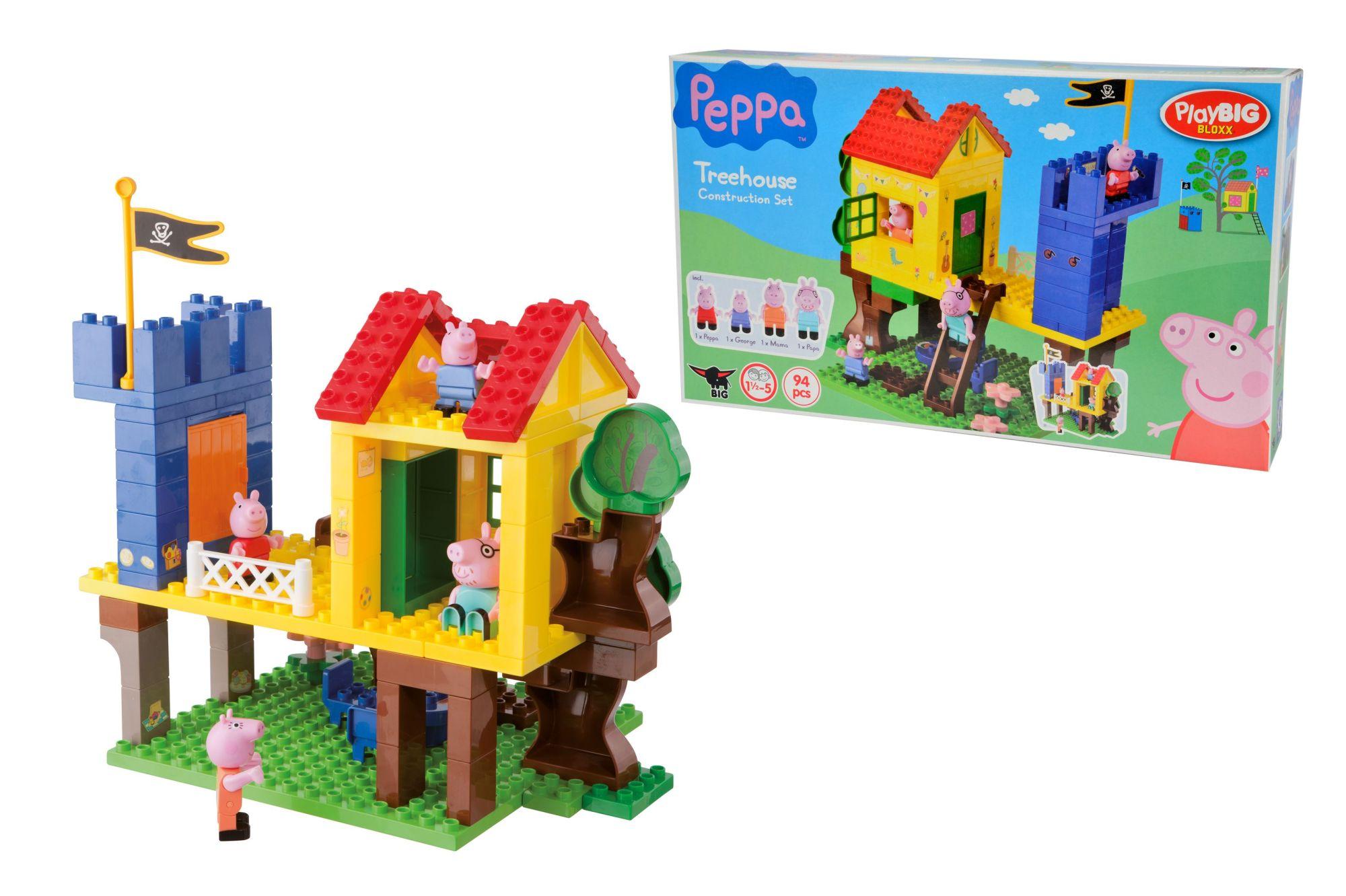 playbig bloxx peppa pig baumhaus