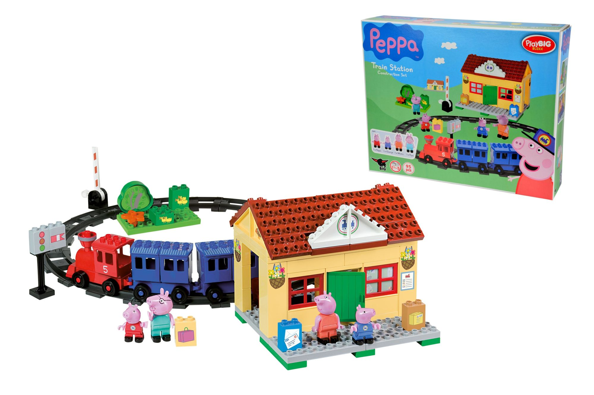 play big bloox peppa pig eisenbahn