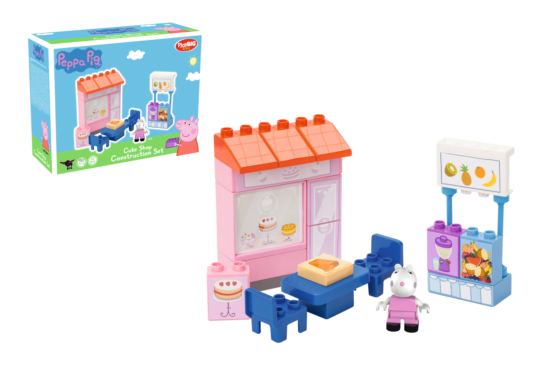 playbig bloxx peppa pig - cake shop