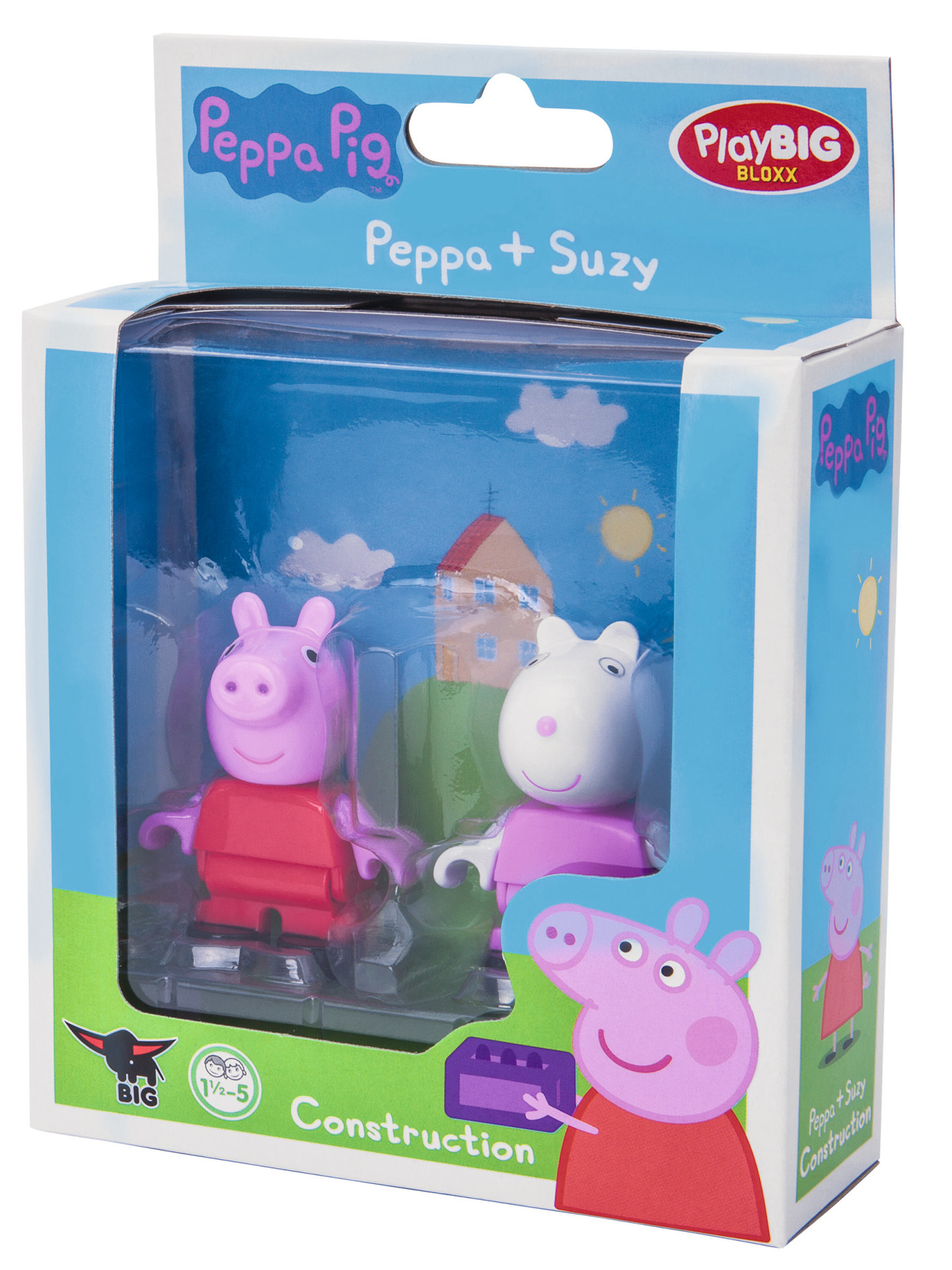 playbig bloxx peppa pig - peppa + suzy
