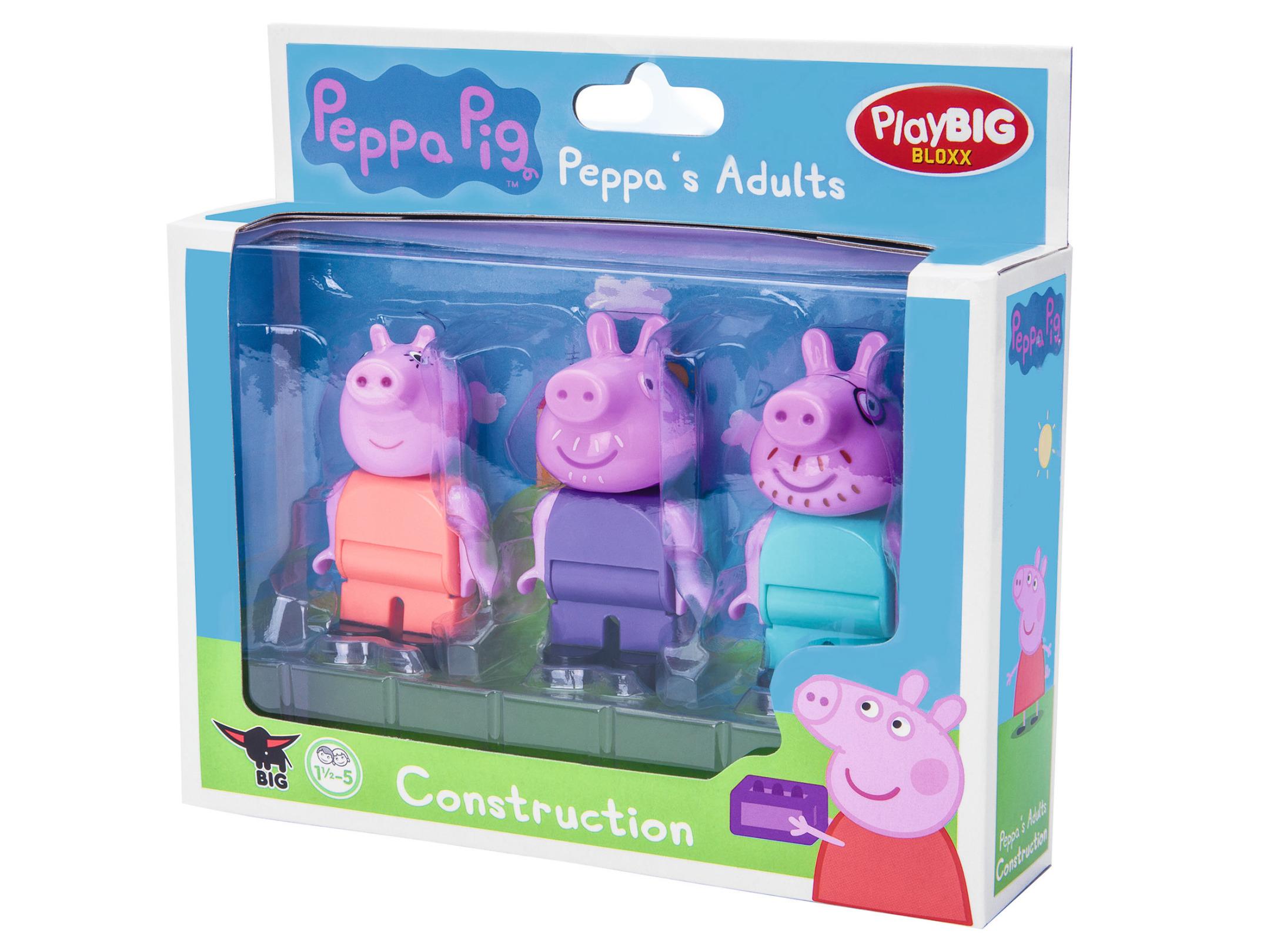 playbig bloxx peppa pig - peppa`s adults