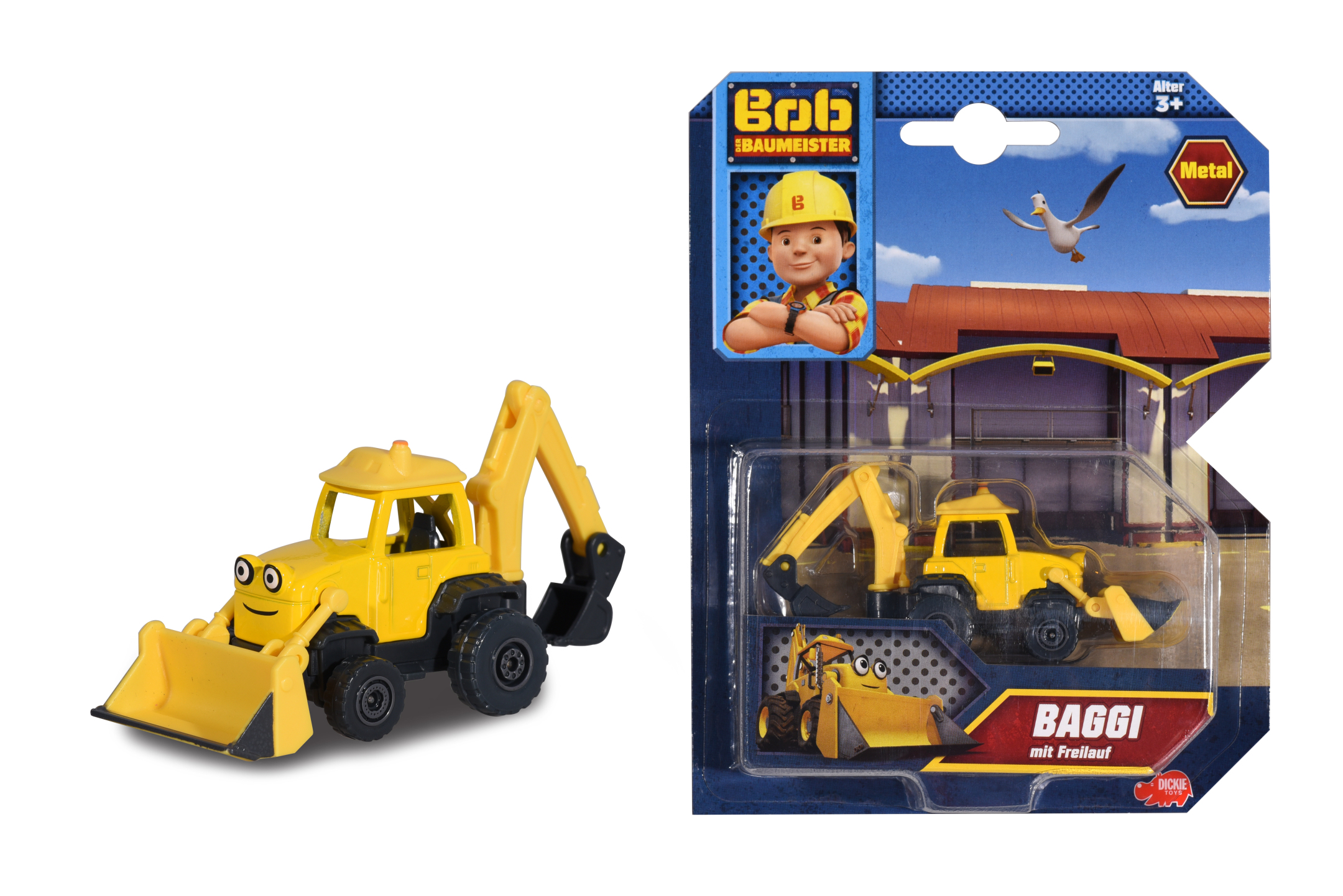Bob der Baumeister Baggi