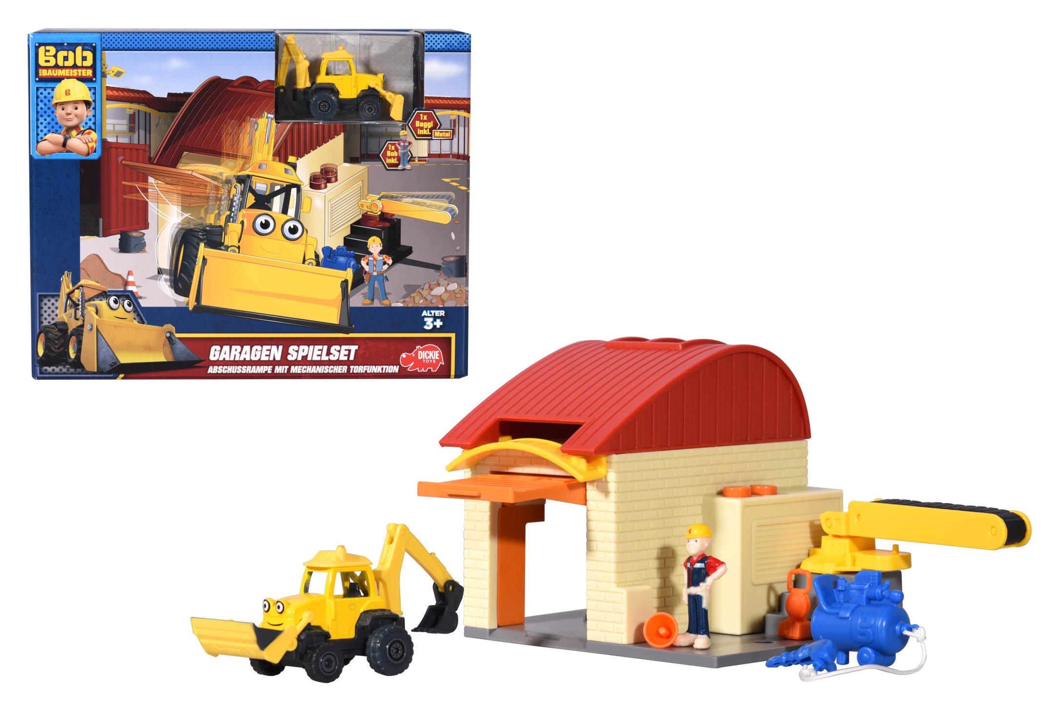 Bob der Baumeister Garagen Spielset