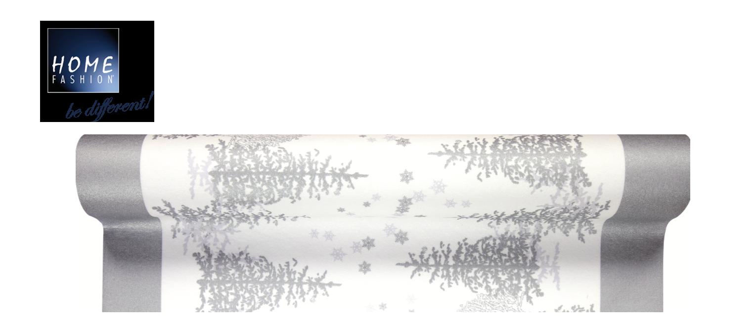 Trees and Snowflakes - Tischläufer