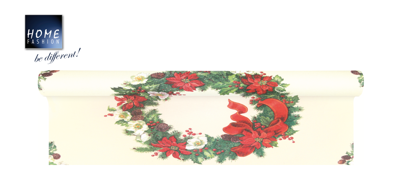 Christmas Wreath - Tischläufer