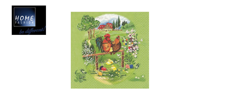 Ostermorgen - Servietten 33x33