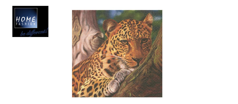 Leopard - Servietten 33x33
