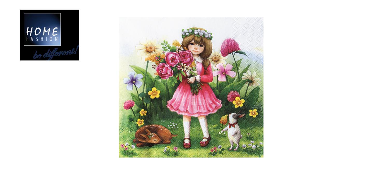 Alice - Servietten 33x33