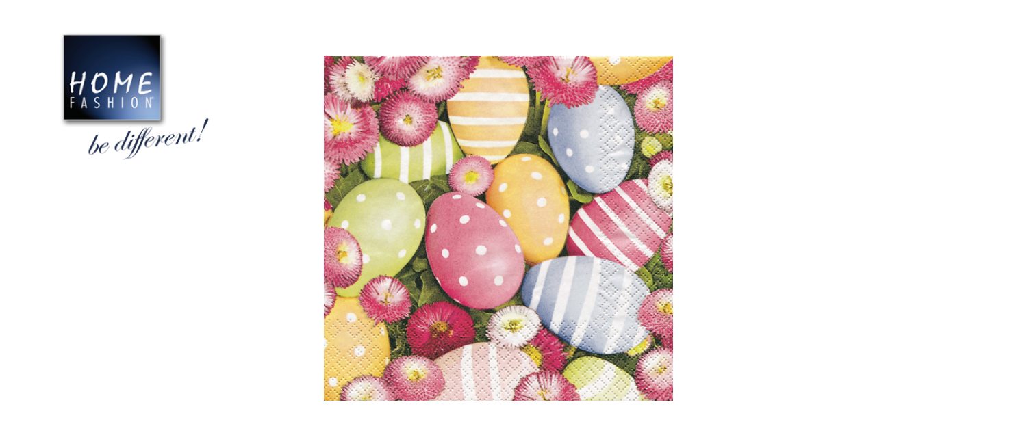 Easterflair Bells - Servietten 33x33