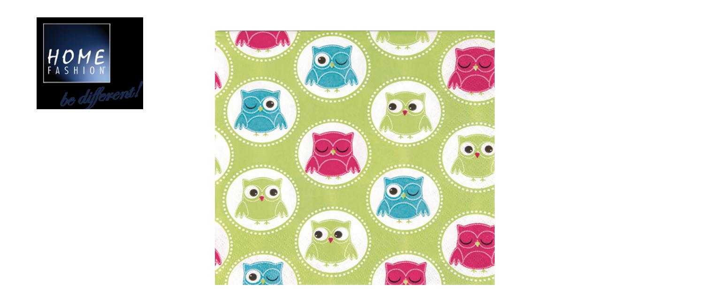 Owls - Servietten 33x33