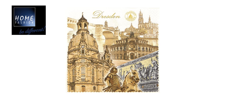 Dresden - Servietten 33x33